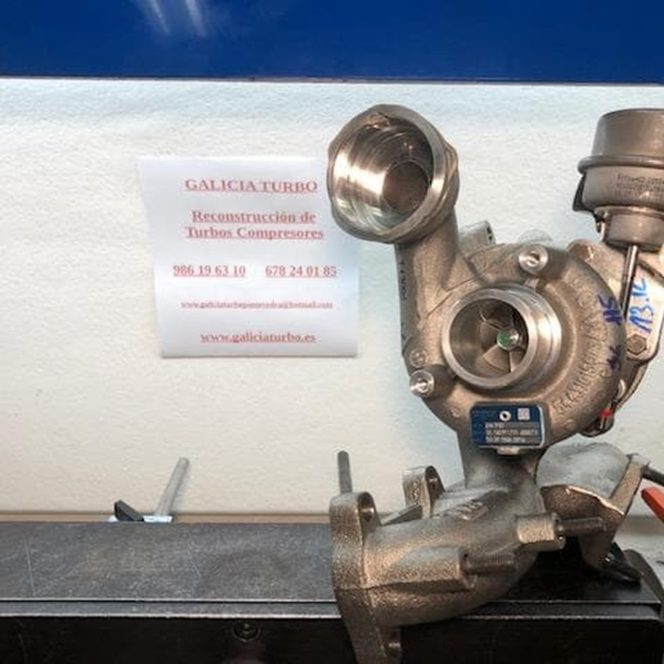 Turbo Ford 1.9 ASZ, 130CV -- 54399700005